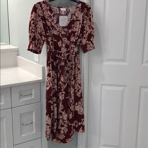 New floral maternity dress